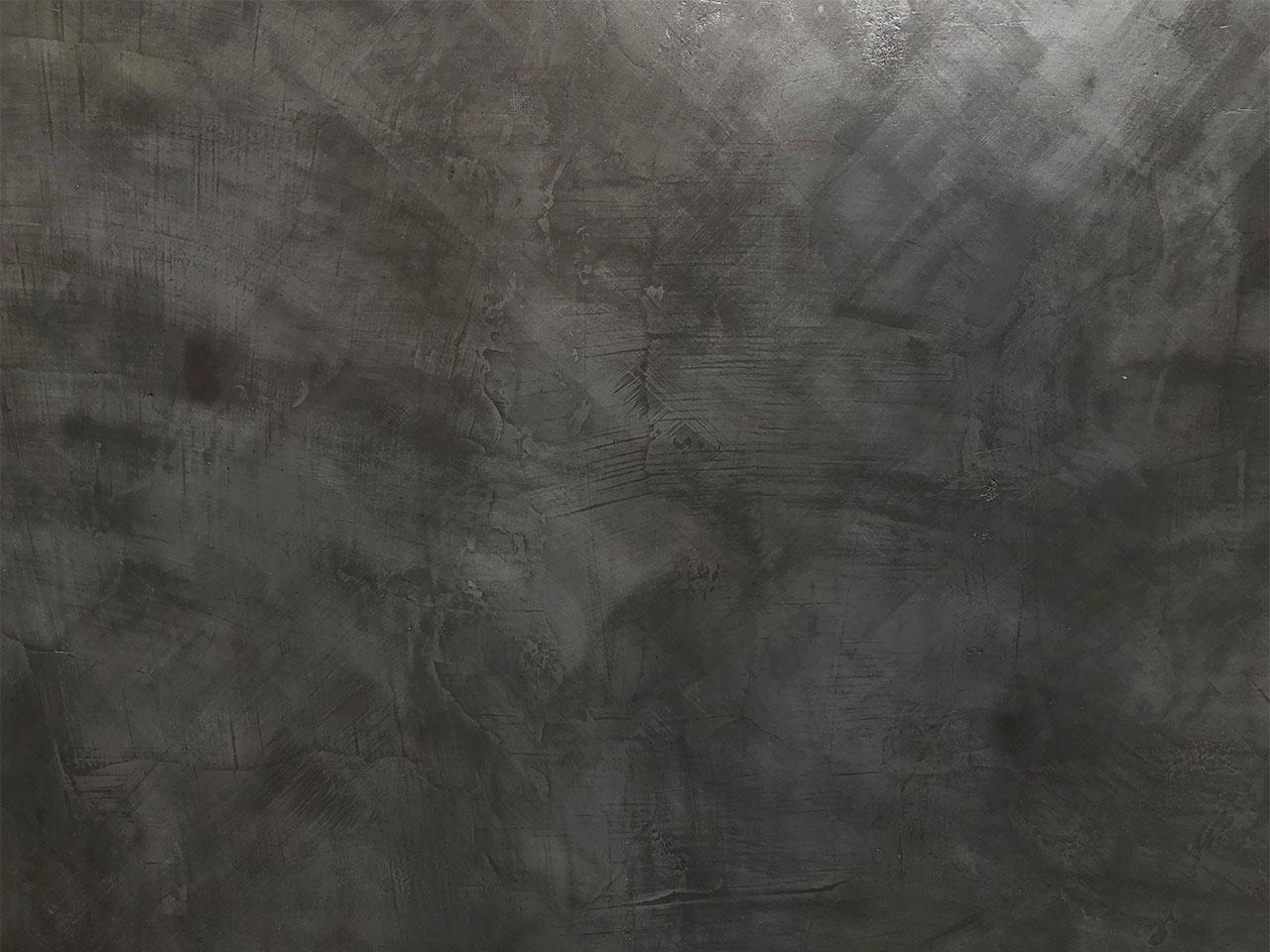 Dark grey effect OS13 - Concrete texture paint