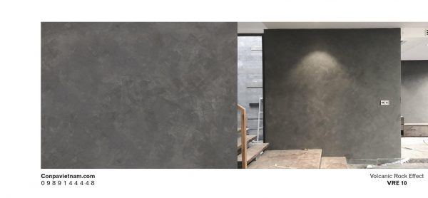Volcanic rock effect VRE10 - Design concrete paint