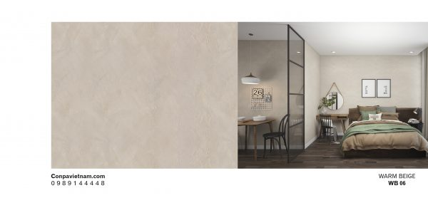 Warm beige WB06 - Conpa design concrete paint