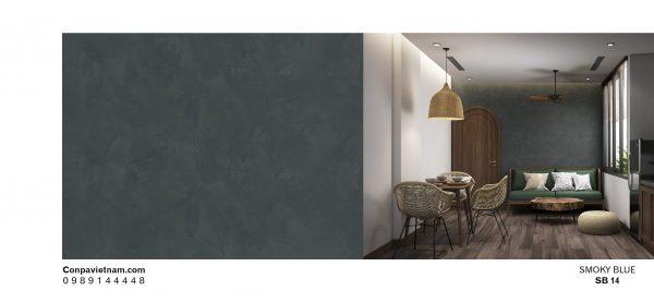 Smoky blue SB14 - Conpa design concrete paint