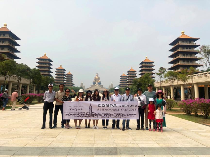 Công ty Conpa Việt Nam du lịch Đà Loan