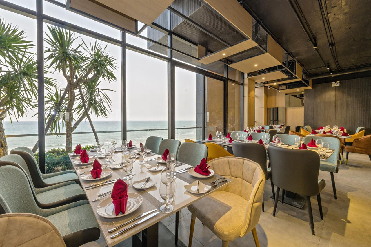 Restaurant The Code Hotel Spa Da Nang