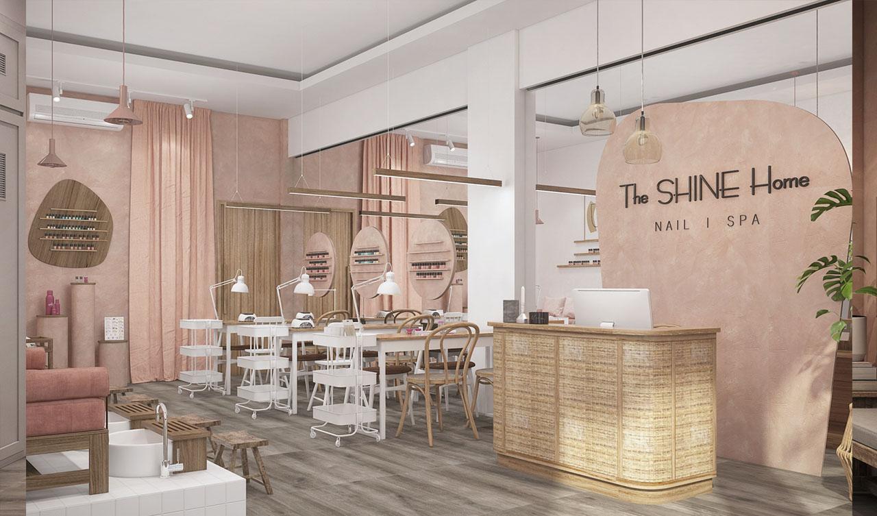The SHINE Home Nail & Spa in Da Nang