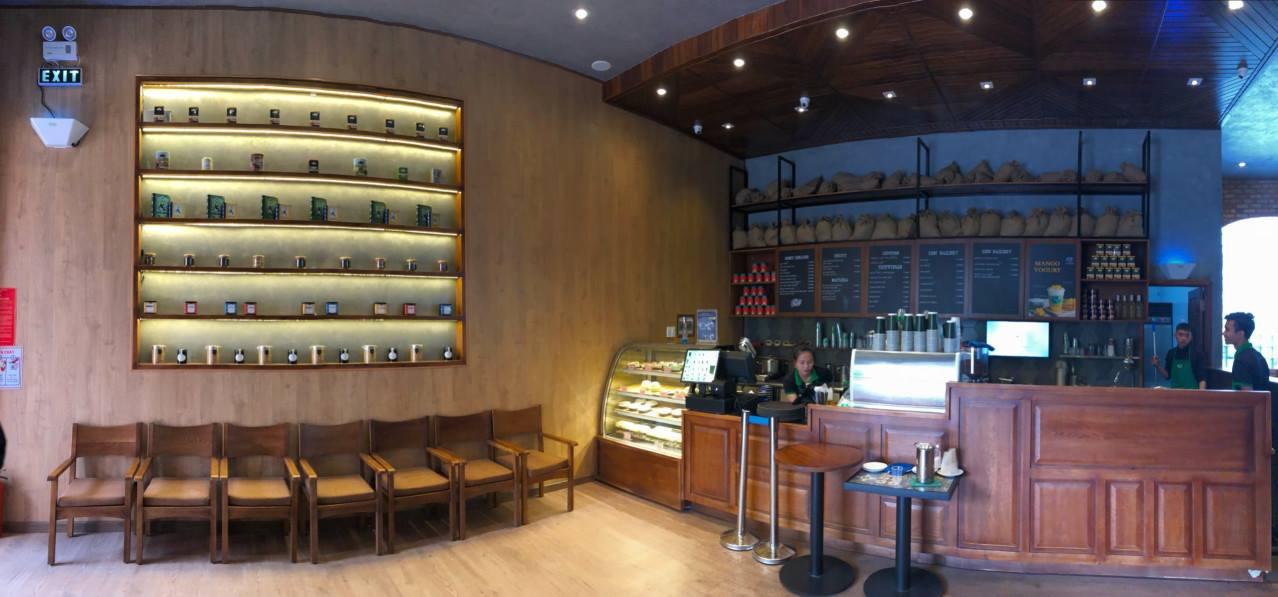 bàn tính tiền quán ZEN Tea Coffee