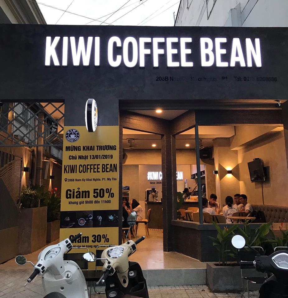 kiwi coffee bean