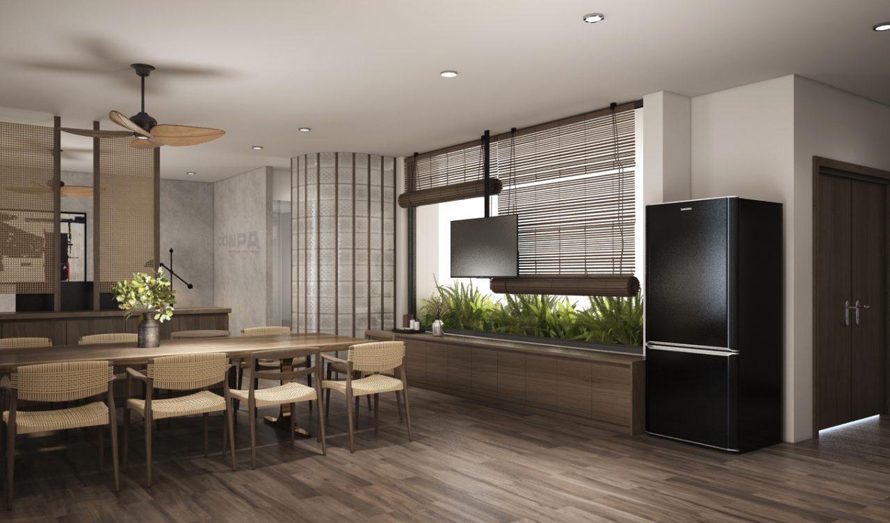 mẫu thiết kế căn hộ pent house sang trọng