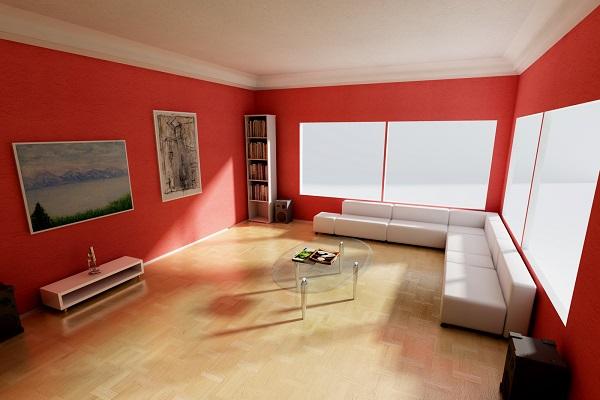 màu sơn nhà cho mệnh hỏa