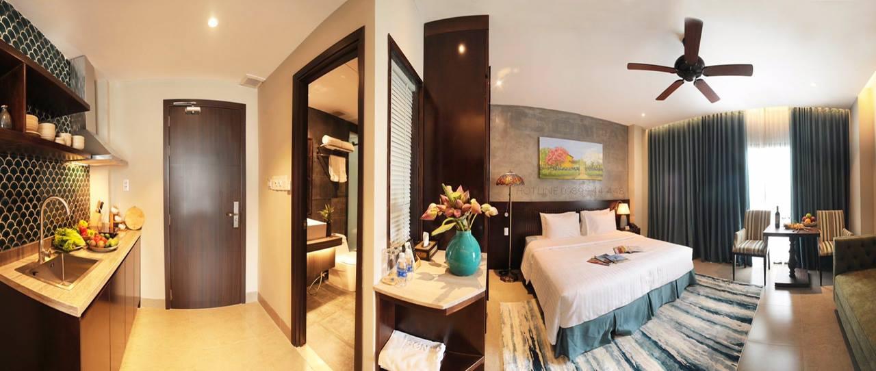 nội thất phòng SEN Boutique Villa Apartment