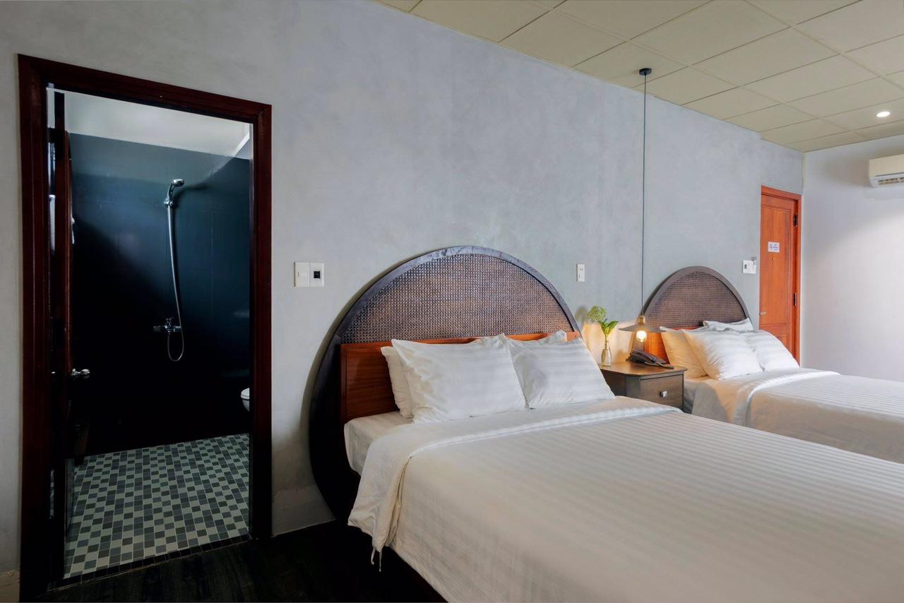 phòng ngủ khách sạn Danati Đà Nẵng