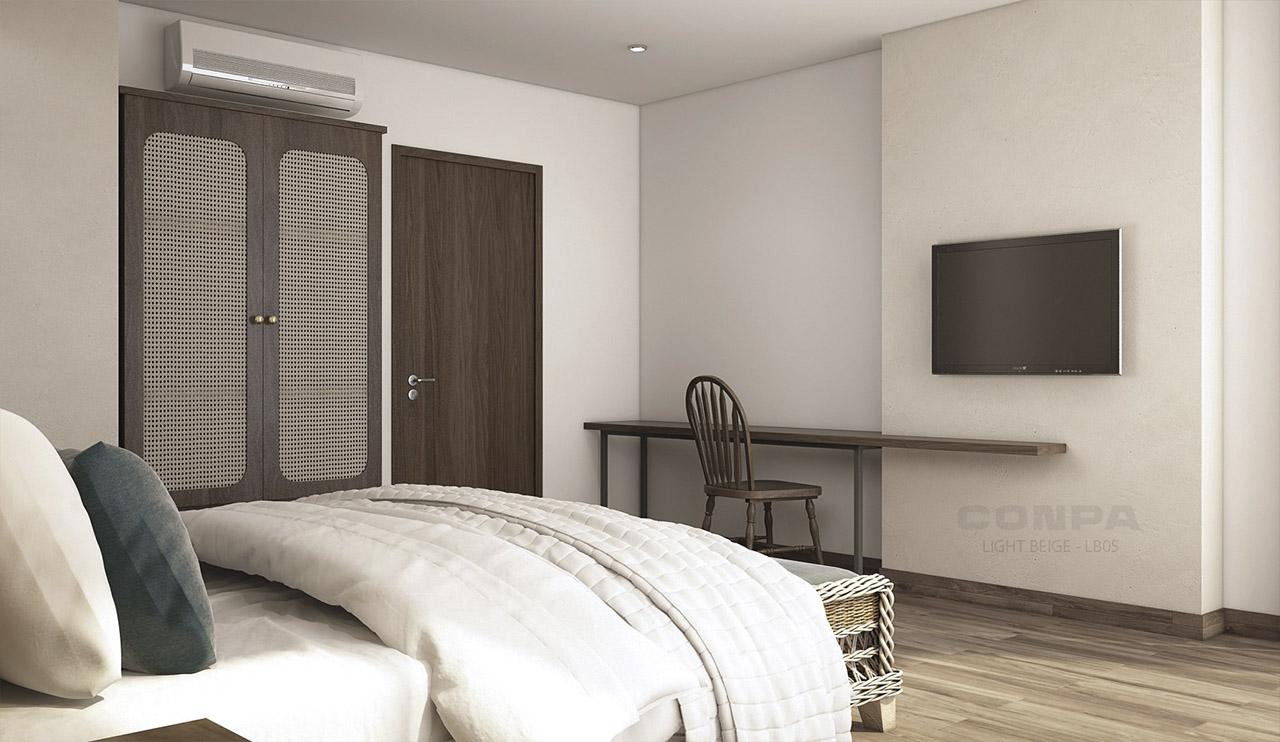 phòng ngủ khách sạn Sông Đà tại Đà Nẵng