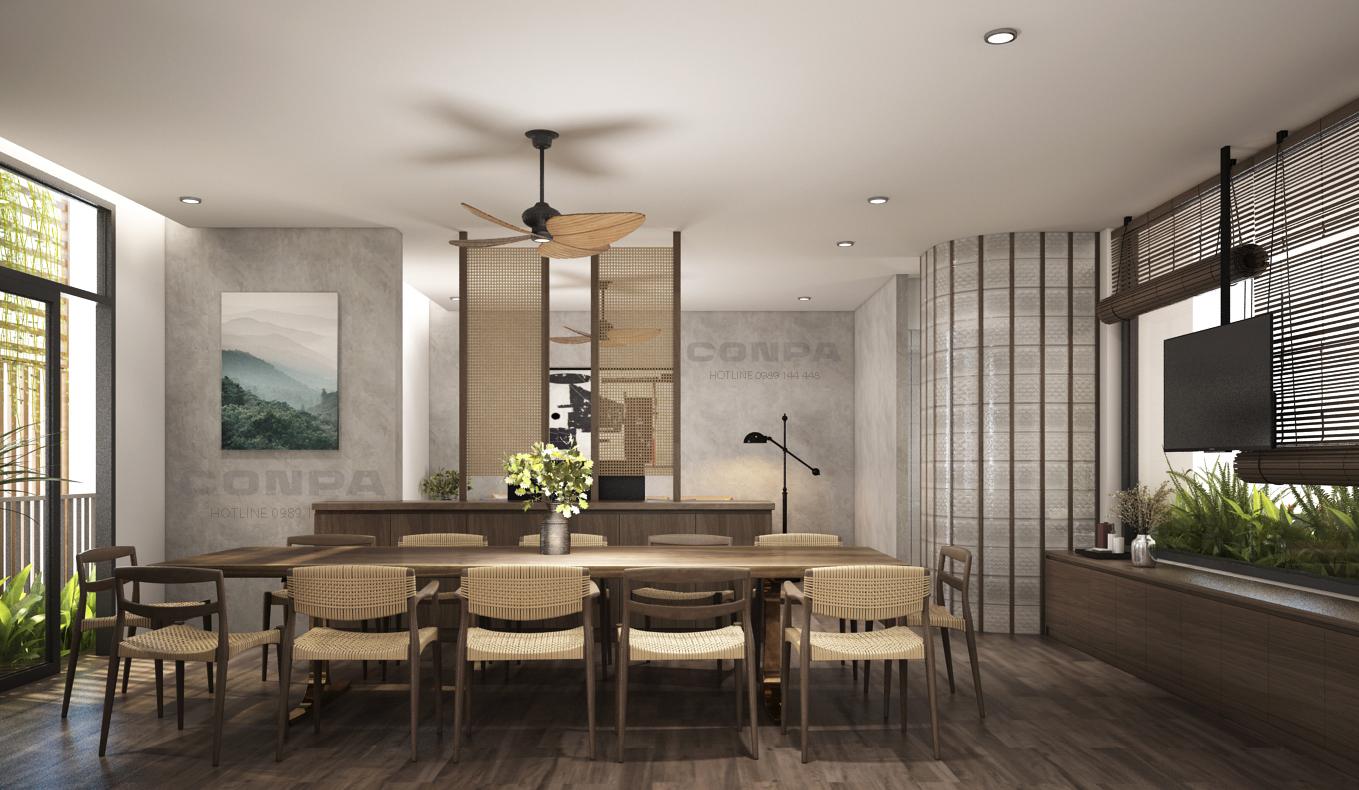 thiết kế nội thất căn hộ pent house
