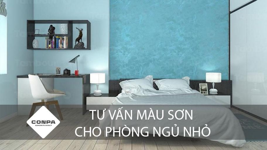 tư vấn màu sơn cho phòng ngủ nhỏ
