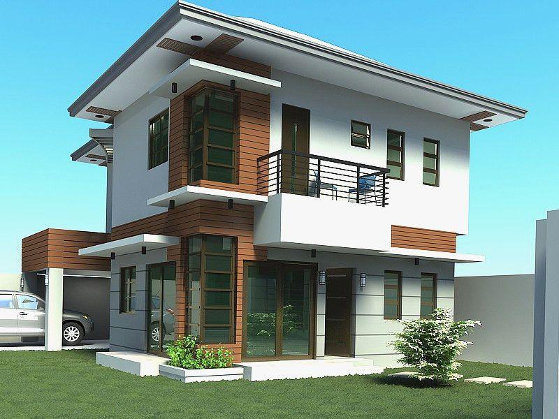 Thiết kế nhà 2 tầng trang nhã