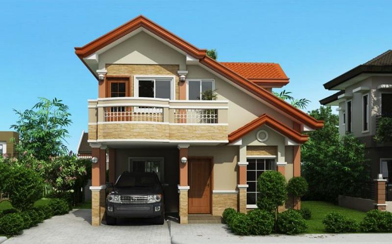 thiết kế nhà 2 mái thái cách điệu-thiet-ke-nha-2-tang