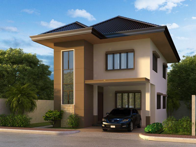 thiết kế nhà 2 tầng giản dị, ấm cúng