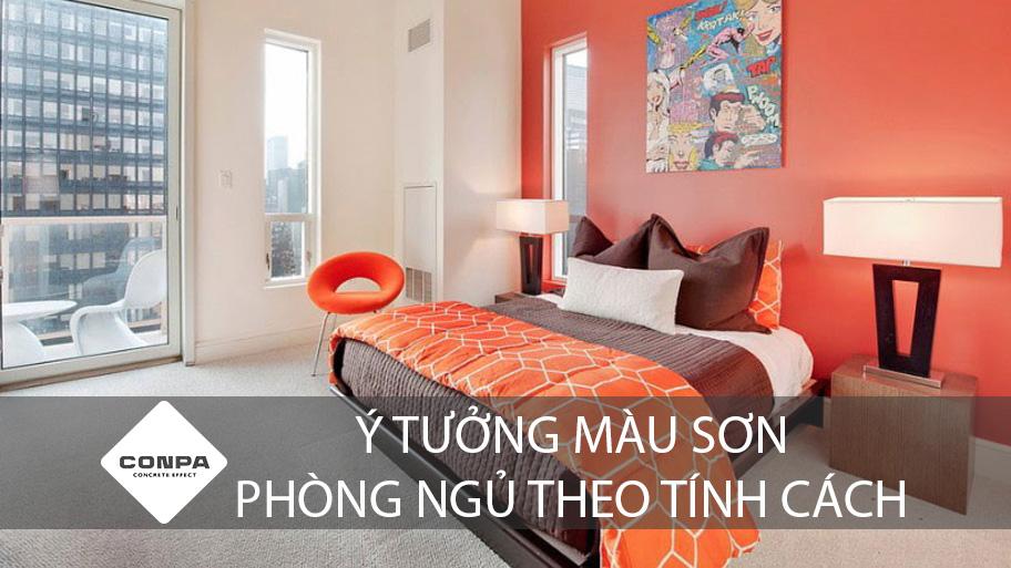 ý tưởng màu sơn phòng ngủ theo tính cách
