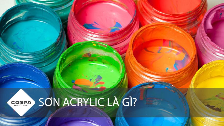 sơn acrylic là gì