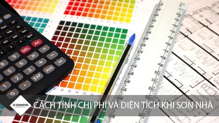 cách tính diện tích và chi phí khi sơn nhà