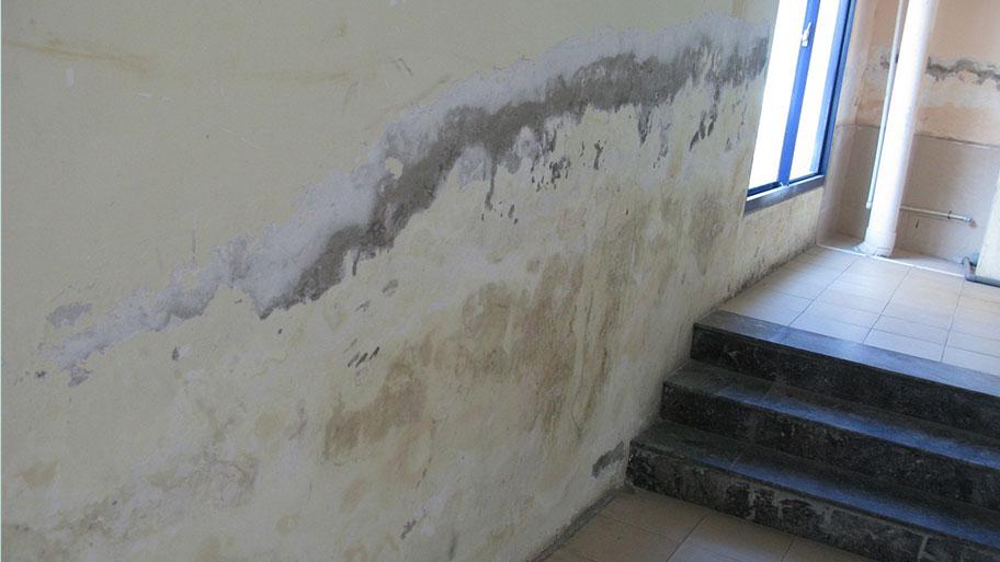 Nguyên nhân khiến lớp sơn tường bị hỏng