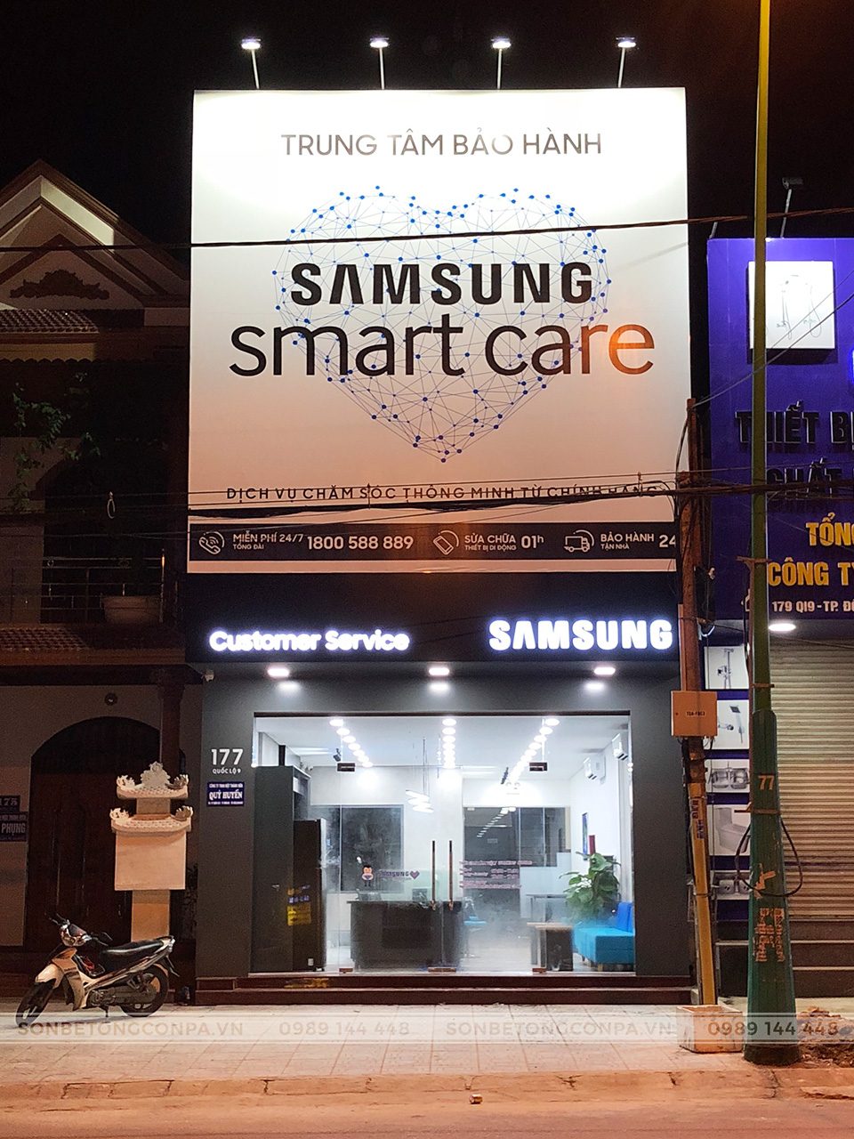 Trung tâm bảo hành Samsung smart care tại Quảng Trị