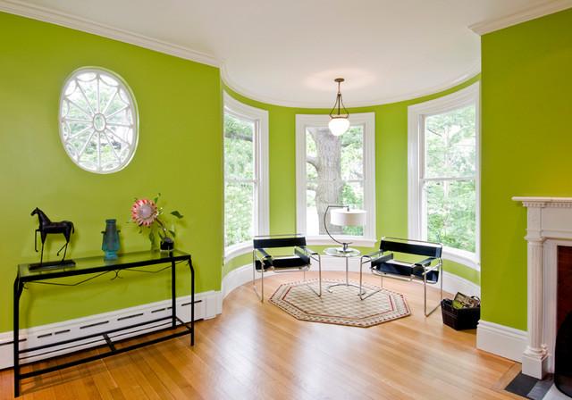 Nhà sàn gỗ nên sơn tường màu gì