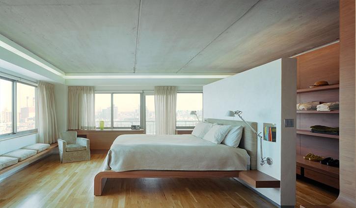 Vách ngăn phòng ngủ bằng nhựa PVC giúp tiết kiệm chi phí
