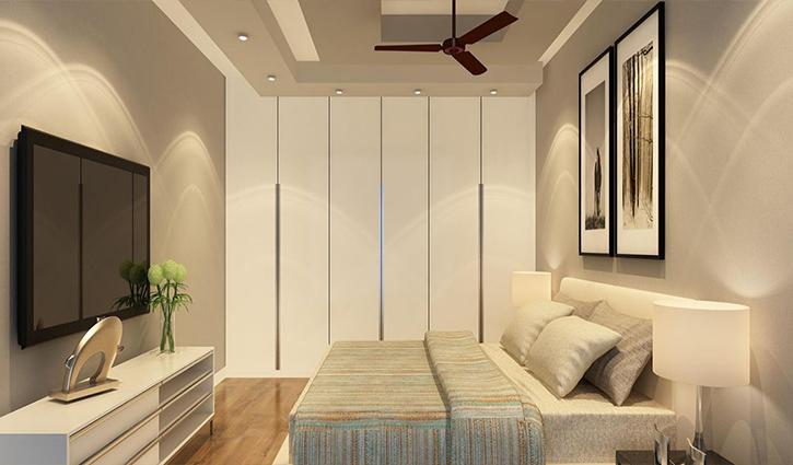 Vách phòng ngủ bằng thạch cao đang được ưa chuộng