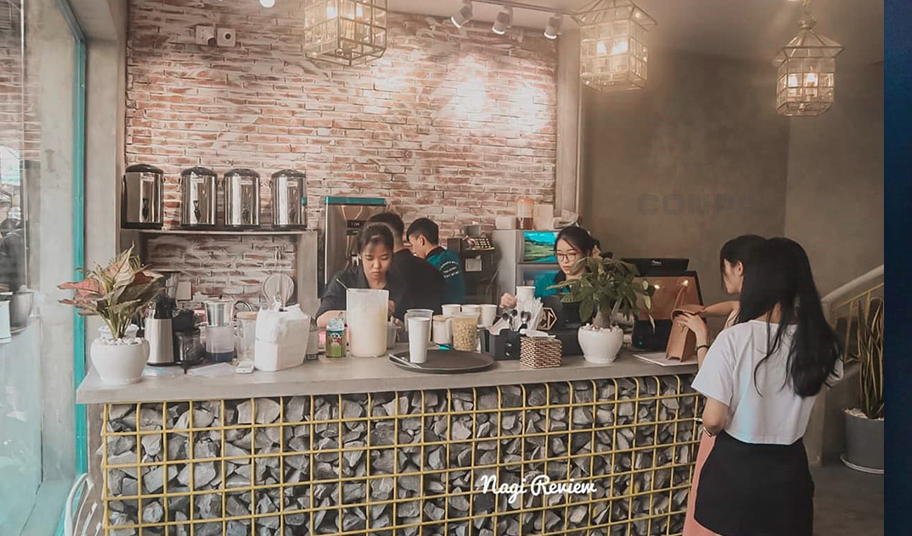 Quầy pha chế của The Kantho Coffee
