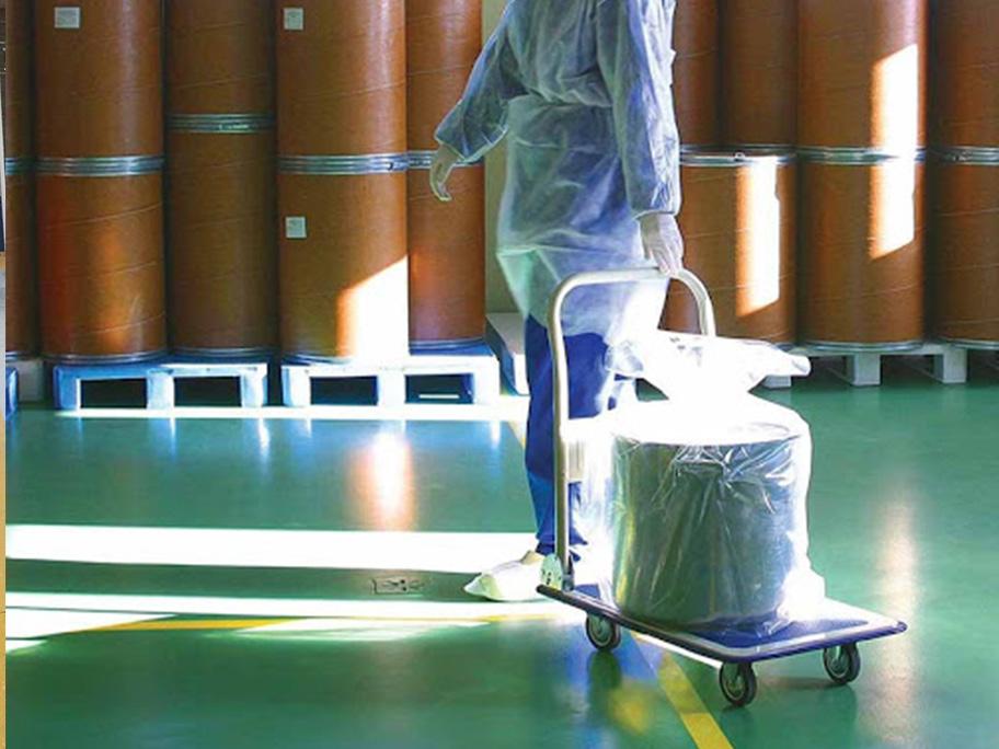 Thi công sơn epoxy kháng hóa chất