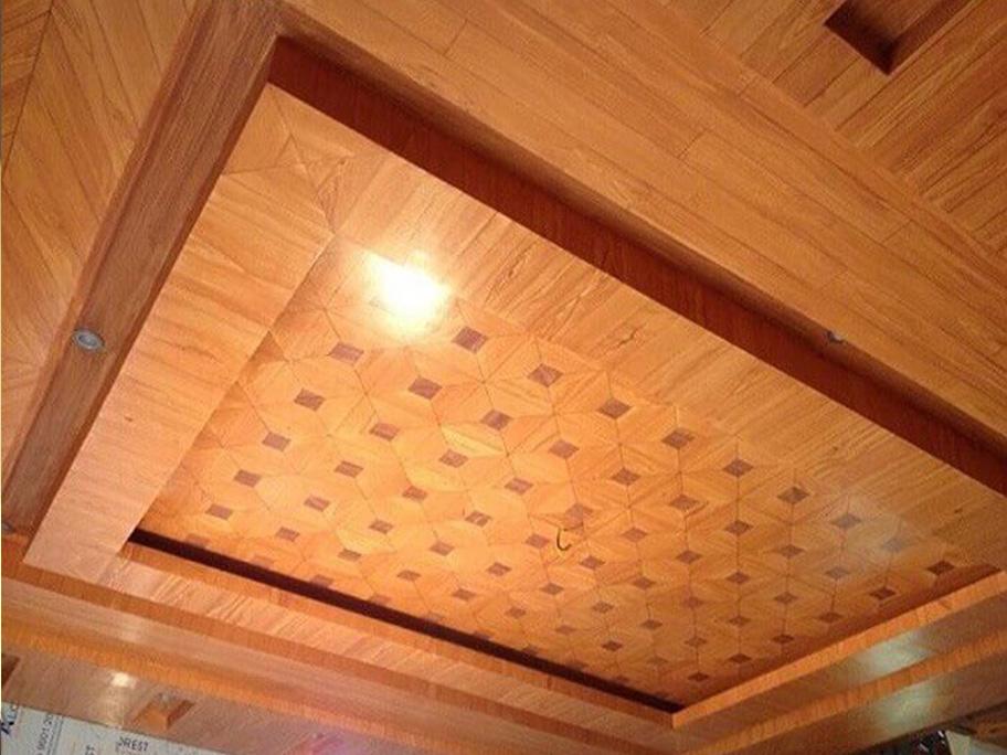 Sơn giả gỗ dùng trong phòng khách
