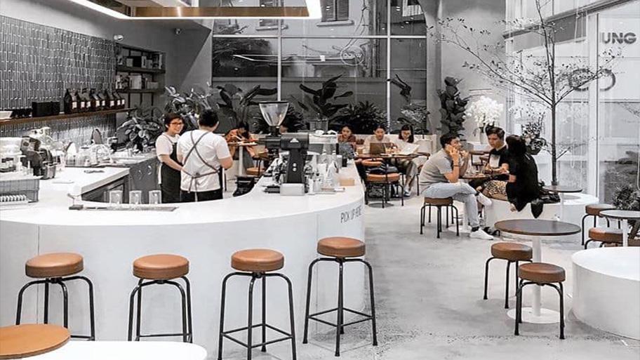 WeGo Coffee sự lựa chọn tốt nhất cho những ai thích gam màu sáng