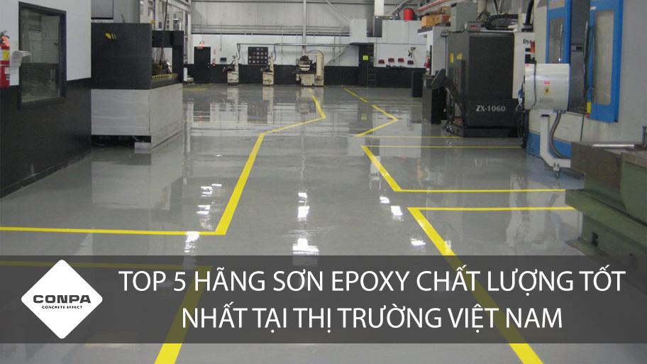 Công trình sử dụng sơn Epoxy chất lượng nhất thị trường Việt Nam
