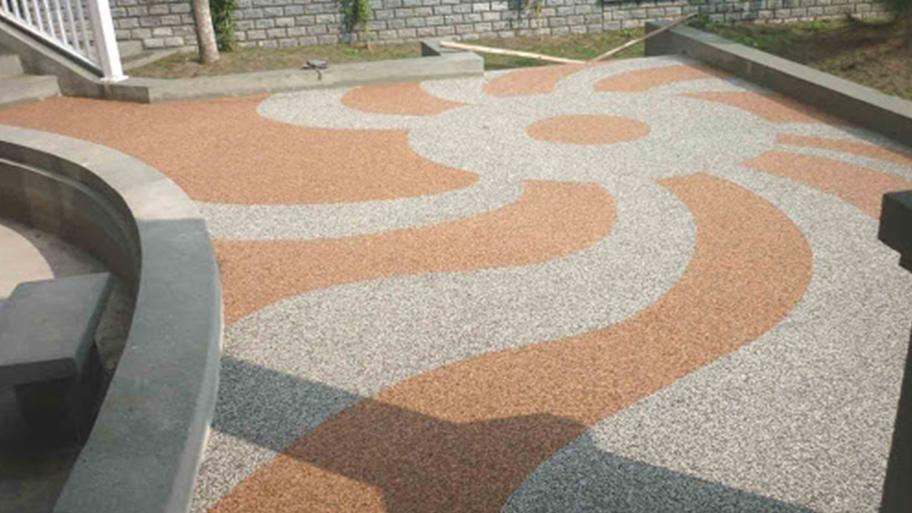 Chạm khắc trên bề mặt bê tông