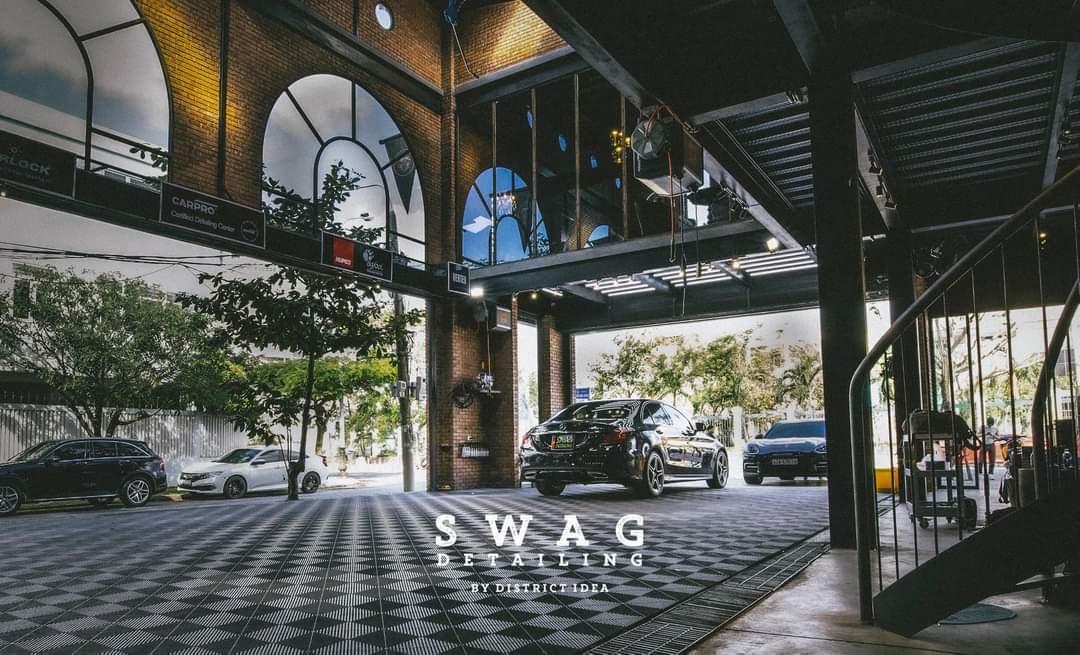 trung tâm chăm sóc xe swag detailing tại đà nẵng