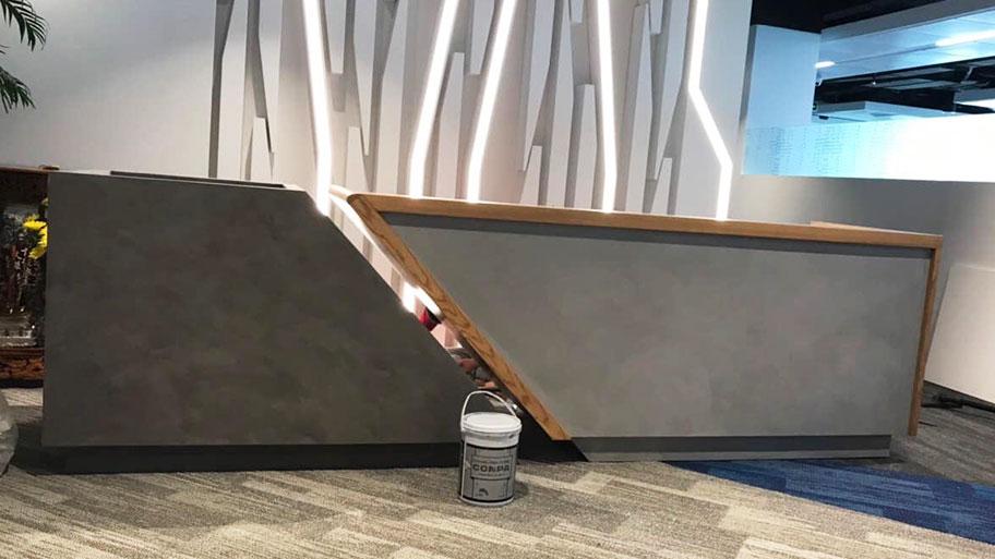 bàn giao công trình thi công sơn giả bê tông