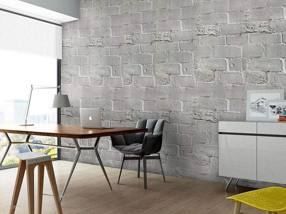 Công trình sử dụng giấy dán tường giả bê tông