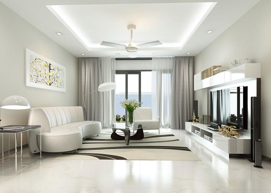 Cách phối màu trong phòng khách đẹp
