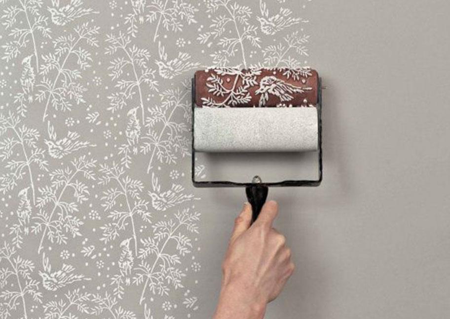 Mẫu con lăn sơn tường đẹp