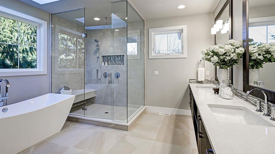 Chống thấm giúp đảm bảo tính thẩm mỹ của nhà vệ sinh