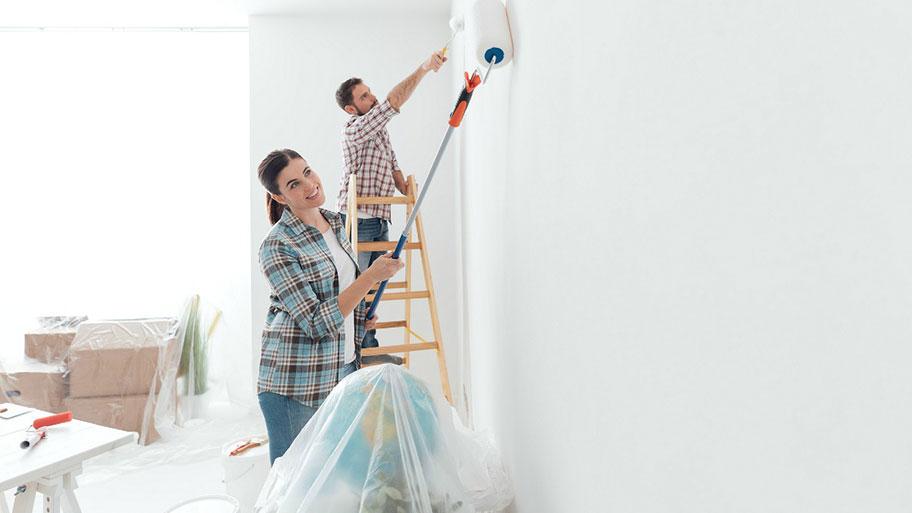 Chuẩn bị bề mặt trước khi thi công sơn