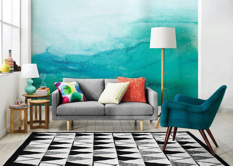 Nguyên tắc khi sử dụng màu Ombre cho sơn tường nhà