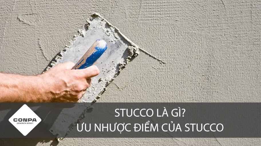 Stucco là gì?