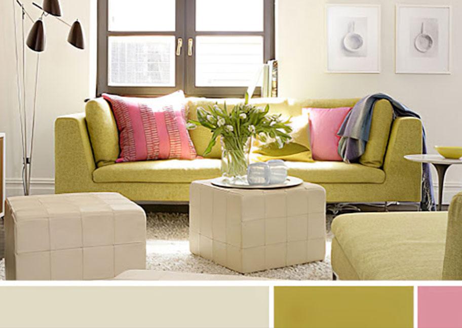 Tỷ lệ 60 - 30 - 10 trong chọn màu gạch lát nền và màu sơn tường