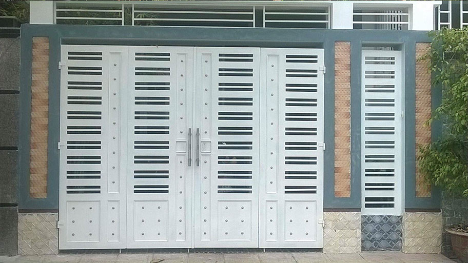 Mẫu cửa sắt đơn giản