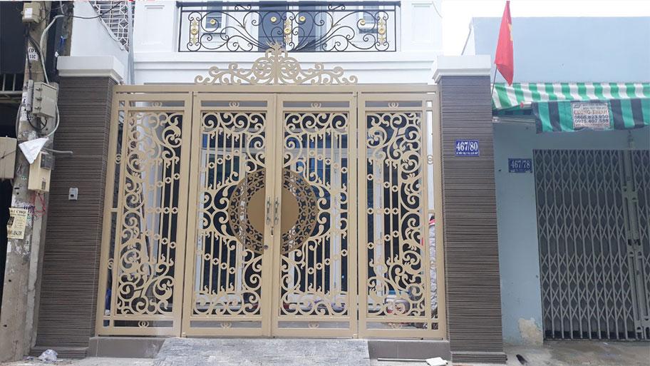 Màu sơn cửa sắt đẹp tinh tế