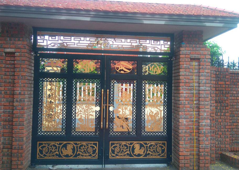 Màu sơn cửa sắt đẹp