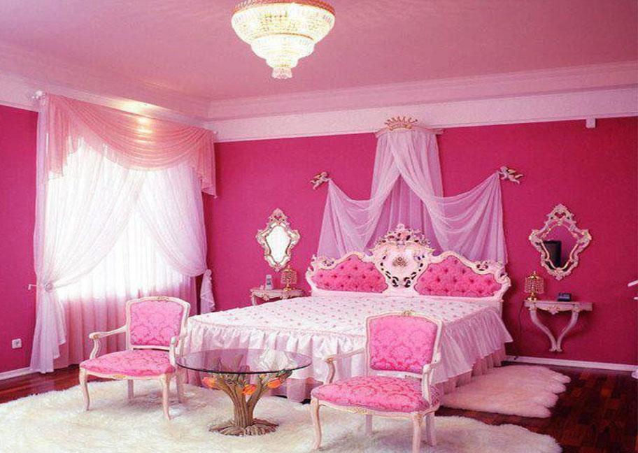 Sơn nhà màu hồng cánh sen